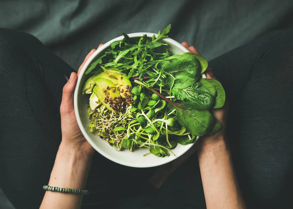 Comer sano y adelgazar con un menú vegano